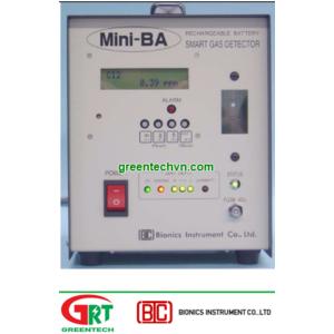Máy đo khí HBr Bionics Mini-BA-3400 | Transportable Detector HBr Mini-BA-3400 | Bionics Vietnam