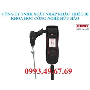 Máy đo khí thải ống khói Kimo KIGAZ 310 Pro (O2, CO, CO2, NO, NO2, SO2, CH4)