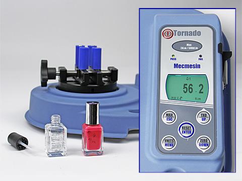 Máy đo lực vặn đóng mở nắp chai kỹ thuật số - Tornado 6 N.m