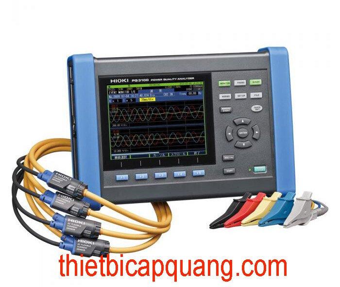 Giới thiệu máy đo lượng điện năng Hioki PQ3100