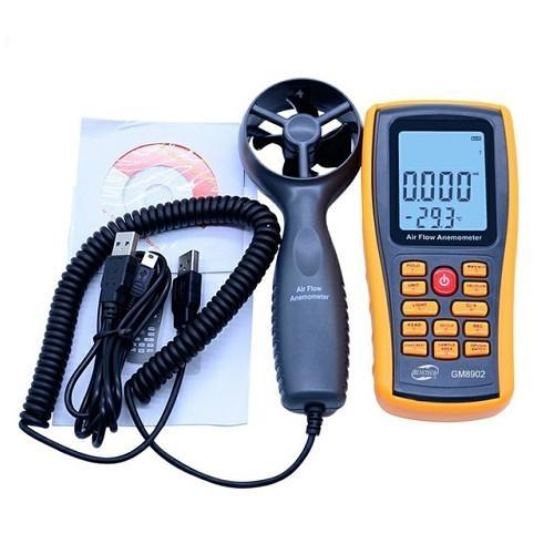 Máy đo lưu lượng và vận tốc gió GM8902