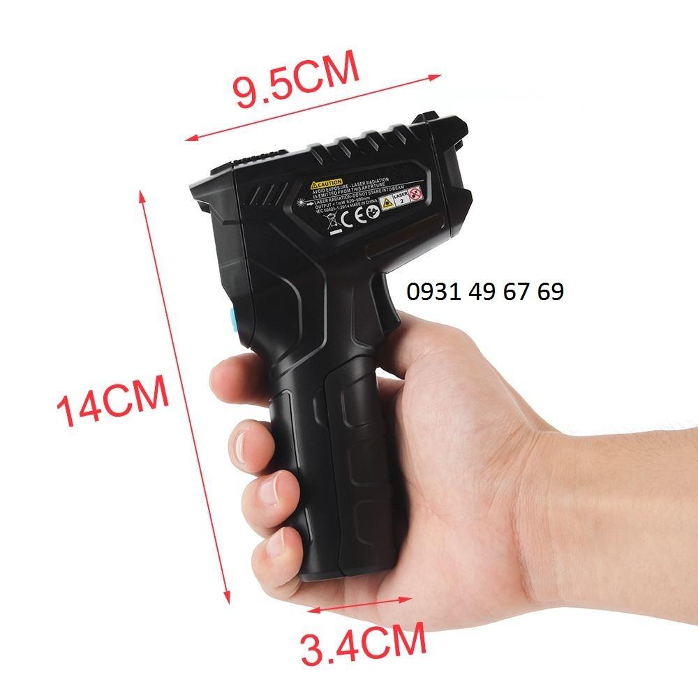 Máy đo nhiệt độ cơ thể cầm tay