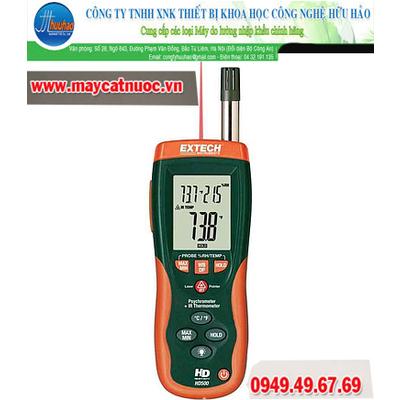 Máy đo nhiệt độ, độ ẩm có nhiệt kế Extech HD500