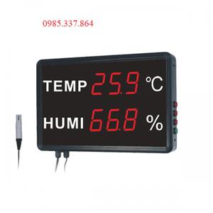 Máy đo nhiệt độ, độ ẩm dạng đèn Led