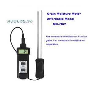 Máy đo nhiệt độ, độ ẩm ngũ cốc MC-7821