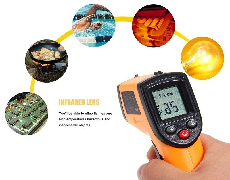 nhiệt kế đo nhiệt độ hồng ngoại GM320