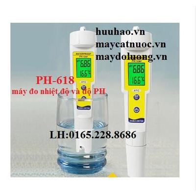 máy đo nhiệt độ và độ PH (PH-618)