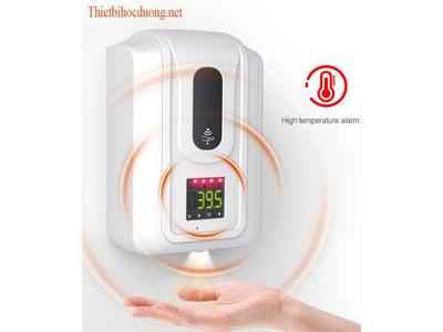Máy kiểm tra thân nhiệt, khử khuẩn loại lớn- dùng cho cơ sở từ 40 -100 người