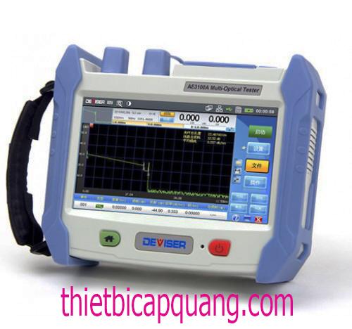 Máy đo OTDR cáp quang Deviser AE3100