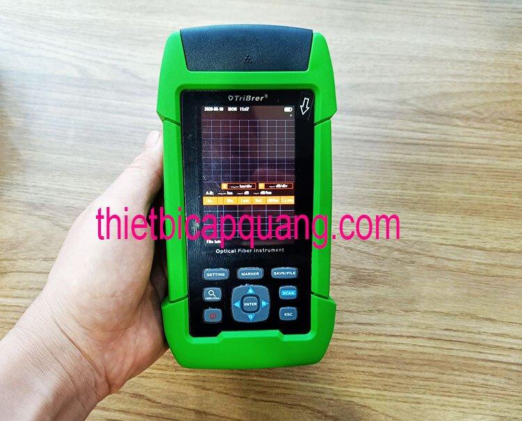 Máy đo OTDR mini dưới 10 triệu TriBrer TB-600