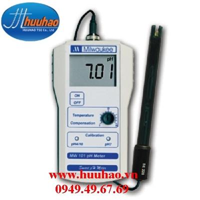 MÁY ĐO pH CẦM TAY ĐIỆN TỬ HIỆN SỐ MW101