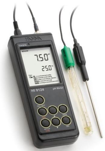 Máy đo pH cầm tay - Model: HI 9124