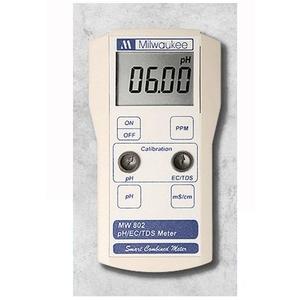 MÁY ĐO pH/EC/TDS CẦM TAY ĐIỆN TỬ HIỆN SỐ Model MW802 – Hãng sản xuất: MARTINI – Rumani