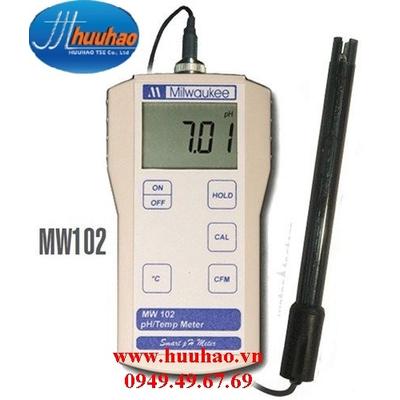 MÁY ĐO pH/NHIỆT ĐỘ CẦM TAY ĐIỆN TỬ HIỆN SỐ Model MW 102