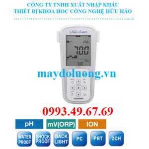 Máy đo pH/ ORP/ Ion/ nhiệt độ cầm tay Horiba pH 130