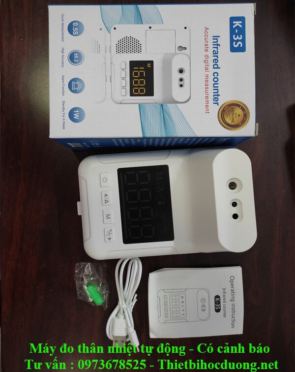 Máy đo thân nhiệt tự động không tiếp xúc Giá rẻ
