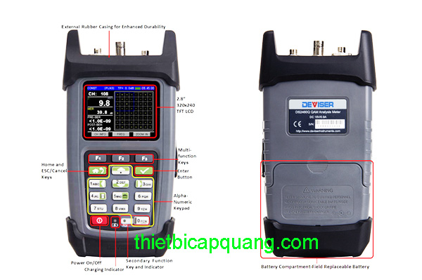 Máy đo tín hiệu truyền hình cáp DS2460Q
