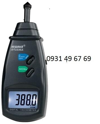 Máy đo tốc độ, chiều dài dây chuyển DT2235A