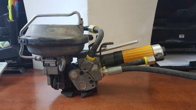 Máy đóng đai thép khí nén 3 trong 1 A480/KZ-19