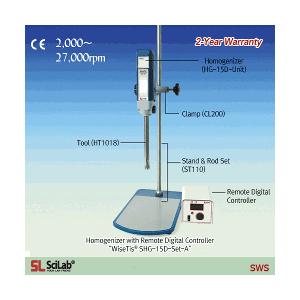 Máy đồng hóa phòng thí nghiệm SHG-15A Scilab