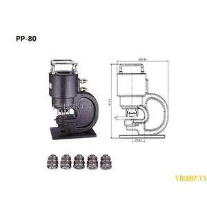 Máy Đột Lỗ Thủy Lực Opt PP-80