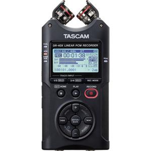Máy ghi âm Tascam DR-40X Four-Track Digital Audio Recorder and USB Audio Interface