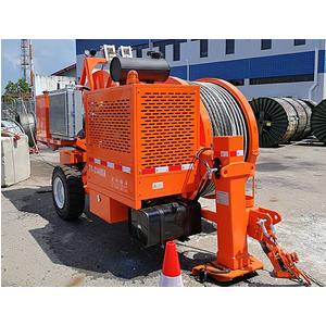 Máy hãm dây thủy lực 2 tang BOYU TY1X160 (16 tấn)