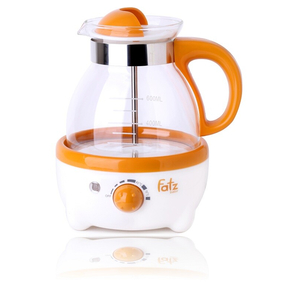 Máy hâm nước pha sữa 600 ml có đồng hồ đo nhiệt độ Fatzbaby FB3009SL