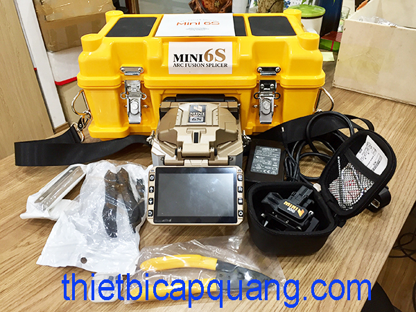 Máy hàn cáp quang FiberFox Mini-6S