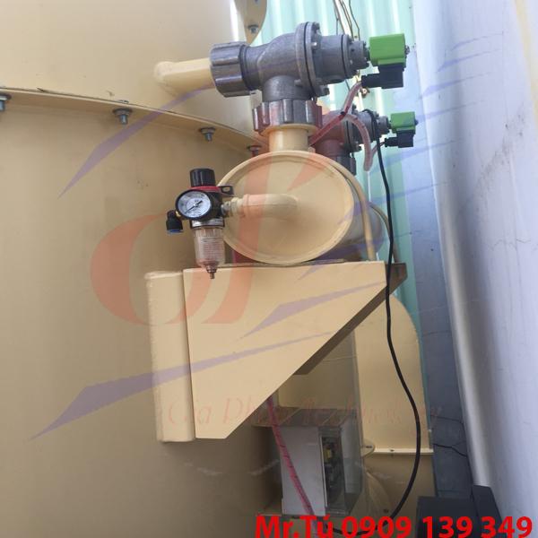 Thiết bị lọc bụi dùng lọc cartridge lưu lượng 3600m3/h dùng Van giũ bụi ZM-40S