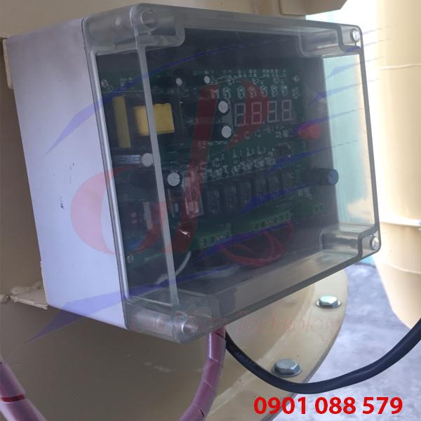 Hệ thống hút bụi công nghiệp dùng mạch điều khiển 6 lines