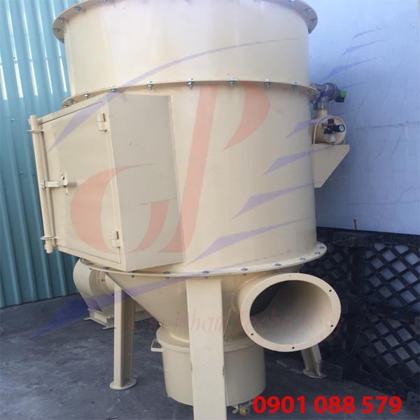 hình ảnh tổng thế của Hệ thống hút bụi công nghiệp