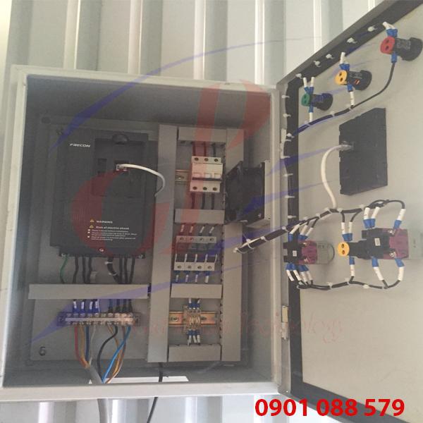 Hệ thống hút bụi công nghiệp dùng Điều khiển biến tần Frecon