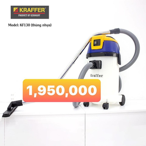 Máy hút bụi - nước công nghiệp Kraffer KF130