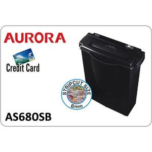 Máy hủy giấy Aurora AS 680 SB