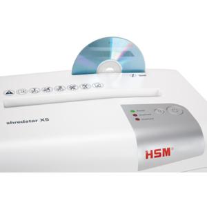 Máy Hủy Giấy HSM Shredstar X5 4,5x30mm