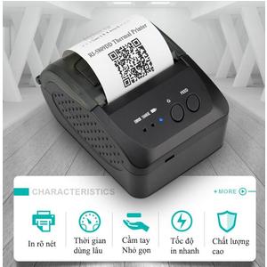 Máy in hóa đơn Bluetooth Richta RI 5809DD