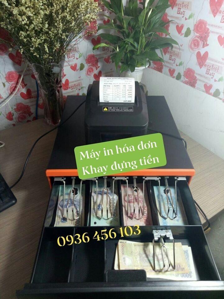 Máy in hóa đơn và Ngăn kéo đựng tiền cho cửa hàng bán lẻ