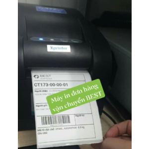 Máy in tem đơn hàng vận chuyển BEST INC Xprinter XP 350B