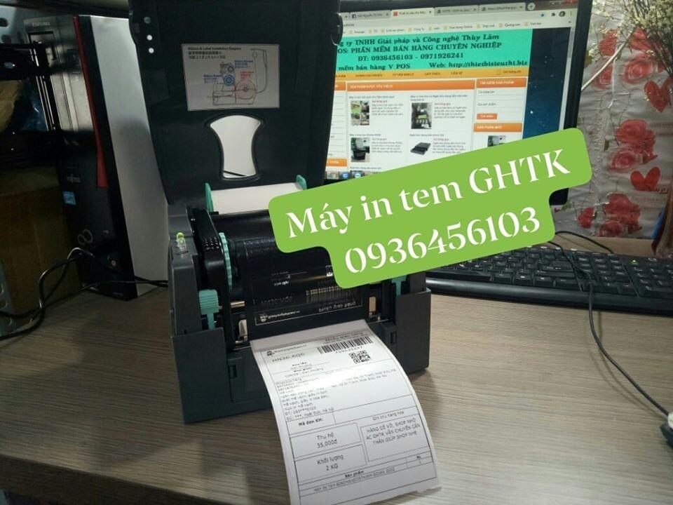 Máy in tem Giao hàng tiết kiệm Godex G500