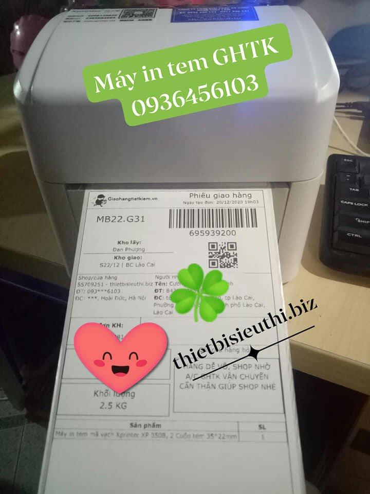 Máy in tem Giao hàng tiết kiệm Xprinter XP 420B