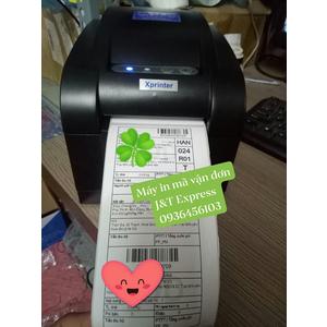 Giấy in tem mã vận đơn J&T Express khổ 80*150mm
