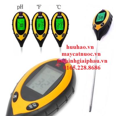 Máy khảo sát 4 trong 1 ATM 300A(nhiệt độ,độ ẩm,PH,ánh sáng)