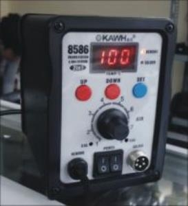 Máy khò nhiệt và hàn thiếc điều chỉnh nhiệt độ KAWH SMD-8586