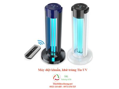 Đèn UV khử trùng, diệt khuẩn cho lớp học , văn phòng bằng tia UV diệt khuẩn 99.99%