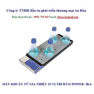 Máy khuấy từ gia nhiệt 10 vị trí RT10 Power IKA