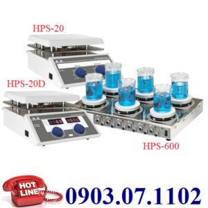 Máy Khuấy Từ Gia Nhiệt HPS-20,Dung Tích Khuấy 20 Lít