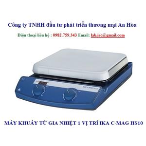 Máy khuấy từ gia nhiệt IKA C-MAG HS 10