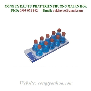MÁY KHUẤY TỪ KHÔNG GIA NHIỆT 10 VỊ TRÍ IKA Model: RO10 POWER