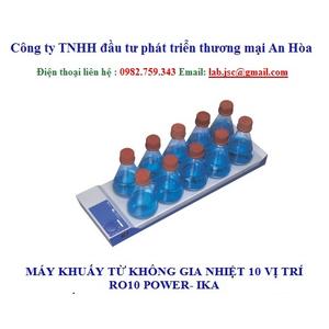 Máy khuấy từ không gia nhiệt 10 vị trí RO10 power IKA